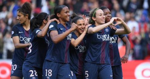 Foot - C1 (F) - Le PSG en finale de la Ligue des champions féminine après sa victoire contre le Barça