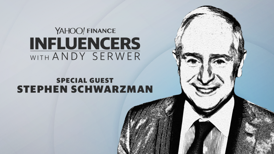 Stephen Schwarzman joins Influencers with Andy Serwer