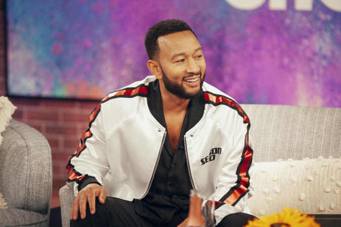 THE KELLY CLARKSON SHOW -- Episode 4170 -- Pictured: John Legend -- (Photo by: Weiss Eubanks/NBCUniversal/NBCU Photo Bank via Getty Images)