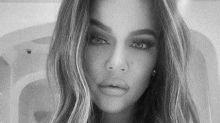 Khloe Kardashian looks unrecognisable in Kris Jenner's throwback snap