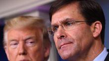 El Pentágono choca con Trump y rechaza el uso de tropas para frenar protestas