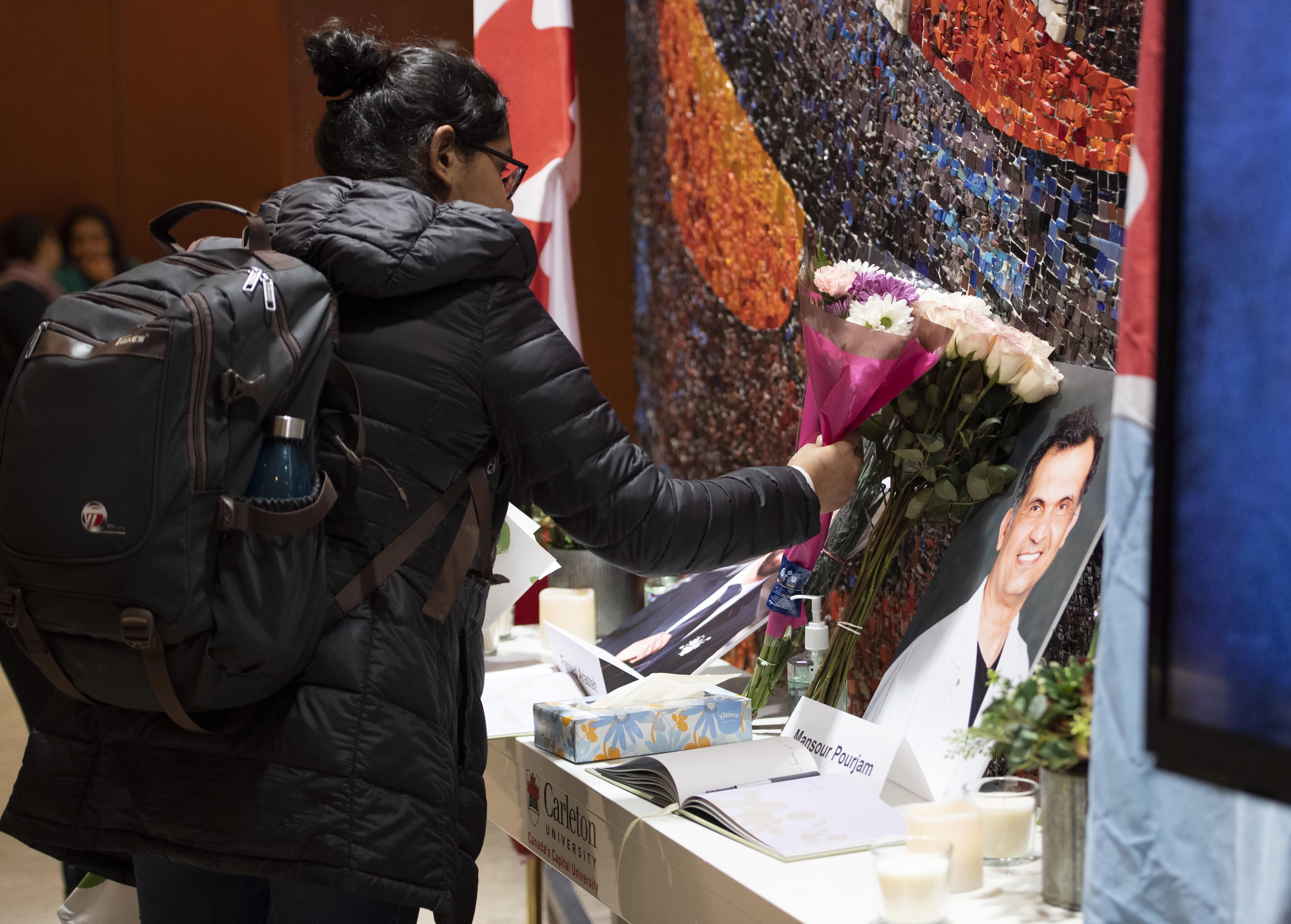 Canada Iran Plane Crash