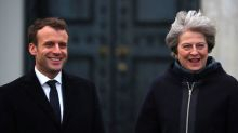 With eye to Brexit talks, May offers France money for border security