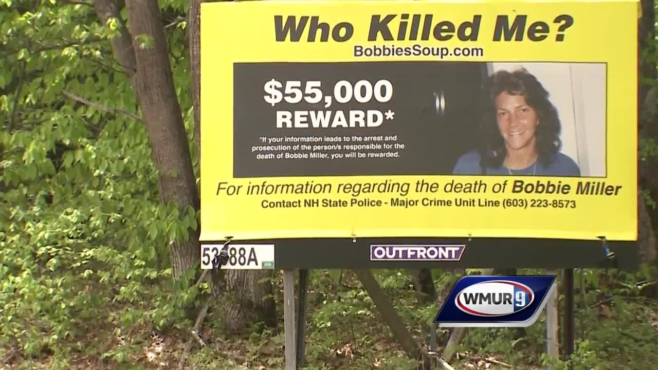 Roberta 'Bobbie' Miller's murder listed among 120 cold cases in NH