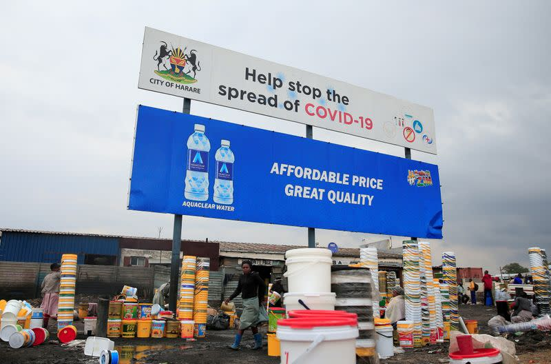 'Overwhelmed' Zimbabwe tightens COVID-19 restrictions, orders most companies closed
