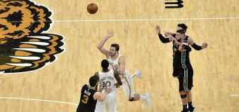 NBA star's buzzer-beater may be wildest of year