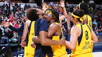 Fever get 1st win of season in rout of Dream