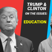 Here's where Hillary Clinton and Donald Trump stand on education