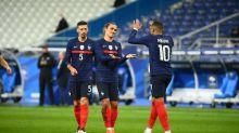 Foot - Bleus - Bleus : buteur face à l'Ukraine, Antoine Griezmann dépasse Zinédine Zidane