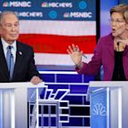 See Elizabeth Warren's takedown of Michael Bloomberg at the Democratic debate set to Nas' 'Ether'