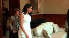 Meghan Markle wears Australian designed dress on tour