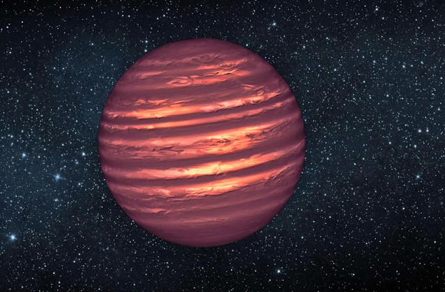 Citizen scientists find a failed star in the Sun's neighborhood