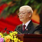 Vietnam's Communist Party leaders warn of challenges ahead