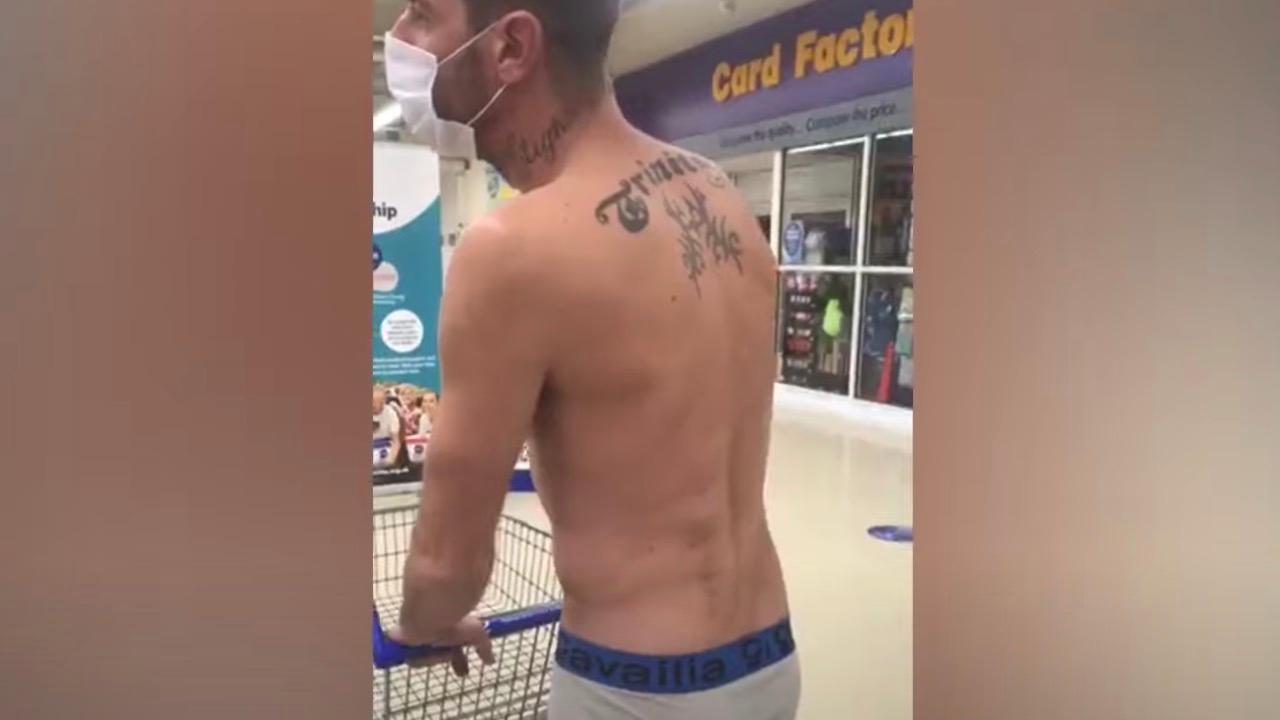 Why man entered supermarket in only his underwear