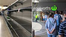Panic buying fears in Coles, Woolworths ahead of lockdown