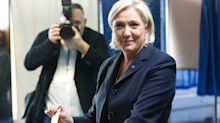 French election 2017: Marine Le Pen leading the race as polls open