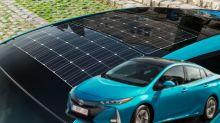Pannelli solari per le auto elettriche: gratis per sempre con Toyota