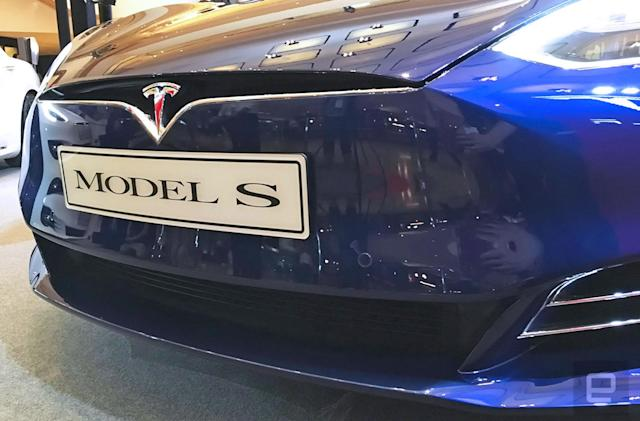 Tesla's major Autopilot update starts rolling out today