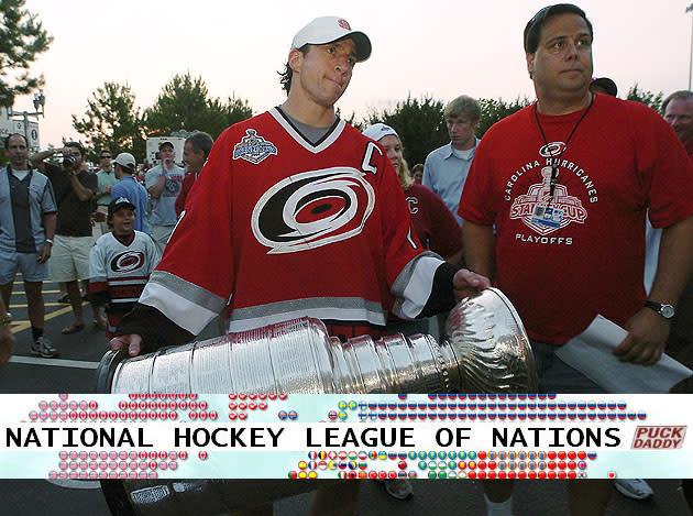 Carolina Hurricanes National Hockey League Of Nations