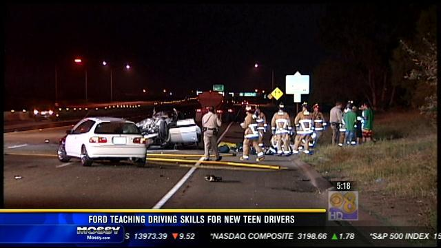 Ford teaches driving skills to new teen drivers