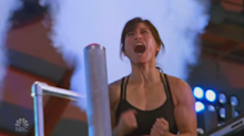 Woman, 42, makes history as first mom to complete 'American Ninja Warrior' course