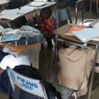 School Children Shelter Under Desks as Earthquake Hits Off Jamaica's Coast