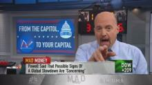 Cramer says CEOs are telling him off the record the econo...