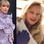 Taylor Swift drops a new Christmas song and the music video is full of adorable childhood moments from her home movies