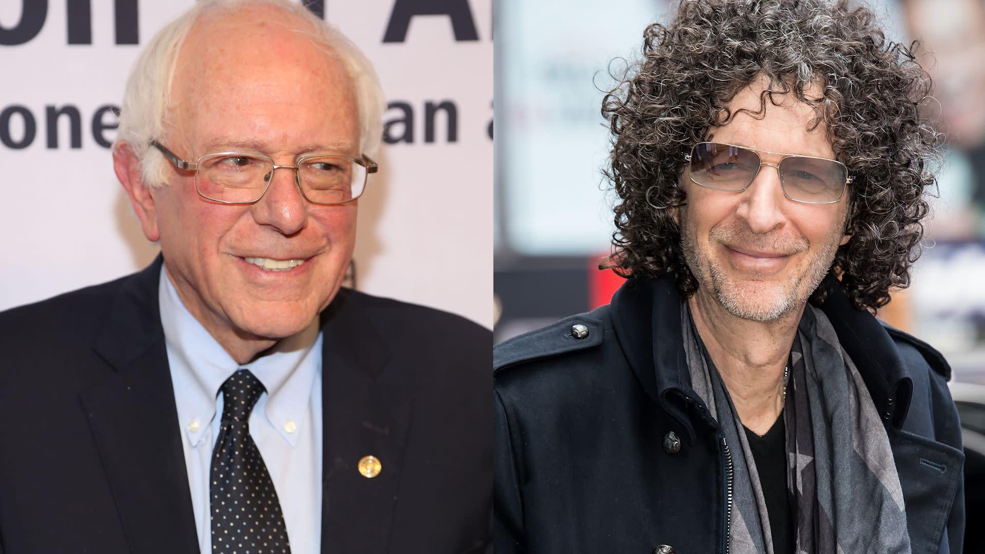 Howard Stern says Bernie Sanders is probably his 'biggest hero'