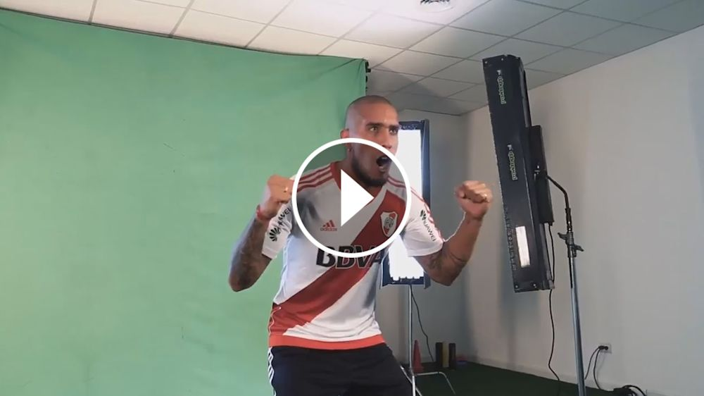 VIDEO: La intimidad de River en la producción de fotos