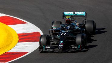 葡萄牙GP自由練習二兩度紅旗中斷中Bottas領先