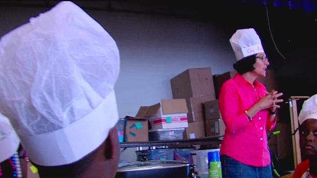Culinary Camp pilot program helps Freestore Foodbank reach more hungry kids this summer