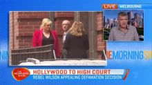 Rebel Wilson continues appeal of defamation decision