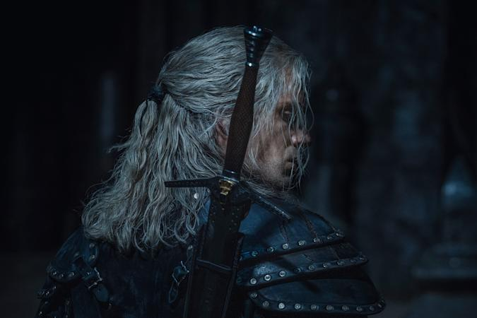 Henry Cavill as Geralt in 'The Witcher'