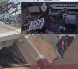 Astonishing Footage Shows Starbucks Store Leveled by Tornado
