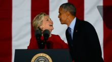 Hillary Clinton called Barack Obama to say 'I'm sorry' after losing election to Donald Trump