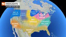 AccuWeather's 2020-2021 US winter forecast