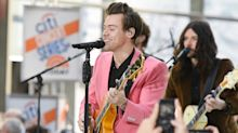 The Internet Just Can't Get Enough of Harry Styles in His Pink Suit