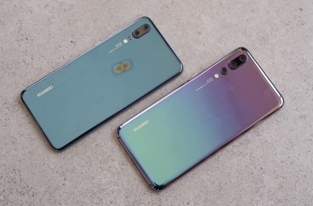 Huawei P20 Pro hands-on: Camera tricks and a supercar finish