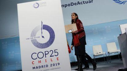 Madrid: COP25 senza accordo, l'emergenza climatica può aspettare