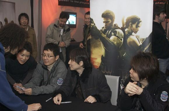 Joystiq at the Resident Evil 5 launch party