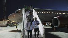 Rusia: motor de avión de saudíes en Mundial se incendió