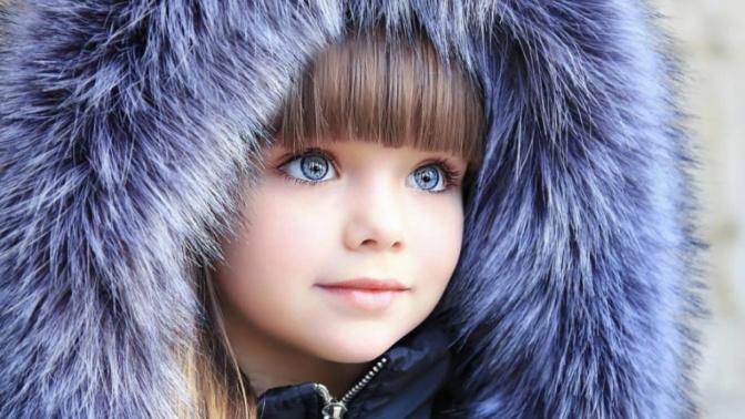 Anna Knyazeva, la nueva niña más guapa del mundo