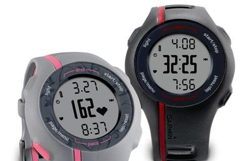 Garmin's Forerunner 110 GPS watch handles just the basics, please