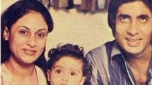 Abhishek goes down memory lane, shares an adorable picture of the Bachchan family!