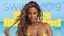 Tyra Banks, 45, is the oldest woman ever to cover 'Sports Illustrated' in a bikini