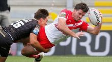St Helens overwhelm Catalans Dragons as Israel Folau refuses to take knee