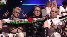 Madonna, Icelandic goth band Hatari make controversial statements at Eurovision in Israel