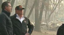 Trump to survey wildfire damage in California