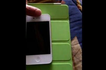 White iPhone proximity sensor, death grip tested on video